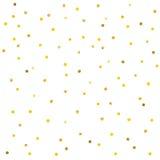 Abstraktes Muster von Goldkonfettis vektor abbildung