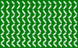 Abstraktes Muster von kurzen glatten weißen Linien vereinbarte symmetrisch auf einem grünen Hintergrund, Lizenzfreie Stockfotografie