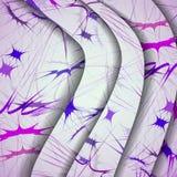 Abstraktes Muster von Linien Lizenzfreies Stockbild
