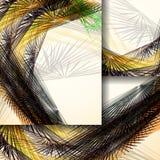 Abstraktes Muster von Linien Stockfoto