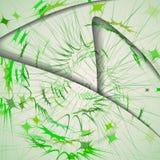 Abstraktes Muster von Linien Lizenzfreies Stockfoto