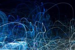 Abstraktes Muster von Stadtlichtern Lizenzfreies Stockbild