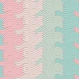 Abstraktes Muster, Wellenhintergrund Lizenzfreie Abbildung
