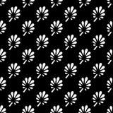 Abstraktes Musterschwarzes und Whitgekritzel lizenzfreie abbildung