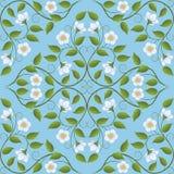 Abstraktes nahtloses Blumenmuster Lizenzfreie Stockfotografie