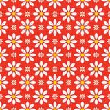 Abstraktes nahtloses Blumenmuster Lizenzfreie Stockbilder