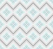 Abstraktes nahtloses buntes Muster Moderner stilvoller Hintergrund mit Rautenelementen Lizenzfreie Stockbilder