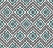 Abstraktes nahtloses buntes Muster Moderner stilvoller Hintergrund mit Rautenelementen Lizenzfreie Stockfotos