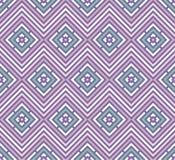 Abstraktes nahtloses buntes Muster Moderner stilvoller Hintergrund mit Rautenelementen Lizenzfreies Stockfoto