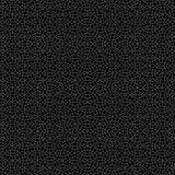 Abstraktes nahtloses dekoratives geometrisches dunkelgraues u. schwarzes Muster Stockfotos