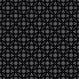 Abstraktes nahtloses dekoratives geometrisches Schwarzes u. Gray Pattern Background Lizenzfreie Stockbilder