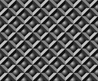 Abstraktes nahtloses geometrisches Muster. Stockfotografie