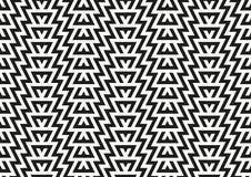 Abstraktes nahtloses geometrisches Muster Lizenzfreie Stockfotos
