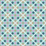 Abstraktes nahtloses geometrisches Muster Stockbild