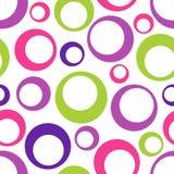 Abstraktes nahtloses geometrisches Muster Stockfoto