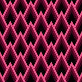 Abstraktes nahtloses geometrisches Muster mit Dreiecken stock abbildung