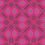 Abstraktes nahtloses geometrisches rosa Muster lizenzfreie abbildung