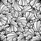 Abstraktes nahtloses mit Blumenmuster stock abbildung