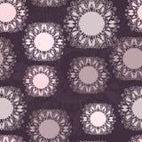 Abstraktes nahtloses Muster Stockfoto
