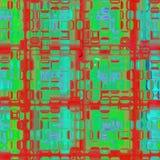 Abstraktes nahtloses Muster. Stockfoto