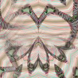 Abstraktes nahtloses Muster. Stockbild