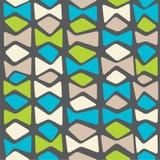Abstraktes nahtloses Muster Lizenzfreies Stockbild