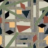 Abstraktes nahtloses Muster Lizenzfreies Stockfoto