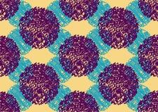 Abstraktes nahtloses Muster lizenzfreie abbildung