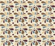 Abstraktes nahtloses Muster in den harmonischen Farben Lizenzfreie Stockbilder