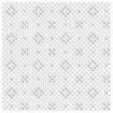 Abstraktes nahtloses Muster der Raute das X und das O mit unterschiedlicher Helligkeit bildend Auch im corel abgehobenen Betrag Stockfoto