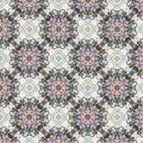 Abstraktes nahtloses Muster der Weinlese, Textildesign Lizenzfreie Stockfotos