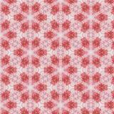 Abstraktes nahtloses Muster der Weinlese, Textildesign Stockfoto