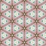 Abstraktes nahtloses Muster der Weinlese, Textildesign Lizenzfreie Stockfotografie