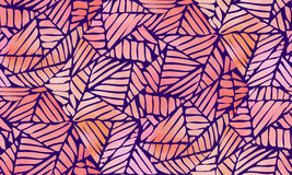 Abstraktes nahtloses Muster des Aquarells Lizenzfreie Stockfotografie