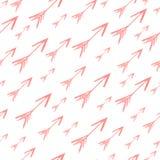 Abstraktes nahtloses Muster des Aquarells Ideal für Hintergründe, Wal vektor abbildung