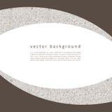 Abstraktes nahtloses Muster des Vektors mit Strudeln Lizenzfreies Stockfoto