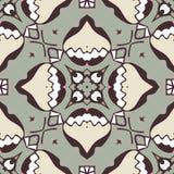 Abstraktes nahtloses Muster für Gewebe und Hintergrund lizenzfreie stockfotos