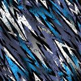 Abstraktes nahtloses Muster für Mädchen, Jungen, Kleidung Kreativer Hintergrund mit Punkten, geometrische Zahlen lustige Tapete f stockfoto