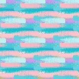 Abstraktes nahtloses Muster für Mädchen, Jungen, Kleidung Kreativer Hintergrund mit Punkten, geometrische Zahlen lustige Tapete f lizenzfreie stockbilder