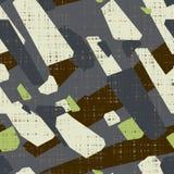 Abstraktes nahtloses Muster Grunge Beschaffenheitshintergrund lizenzfreie abbildung