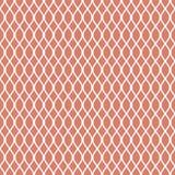 Abstraktes nahtloses Muster Kette Geometrischer Modeentwurfsdruck Einfarbige Tapete vektor abbildung