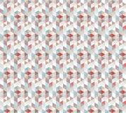 Abstraktes nahtloses Muster mit der Beschaffenheit der Dreiecke Stockfotos