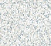 Abstraktes nahtloses Muster mit der Beschaffenheit der Dreiecke Lizenzfreies Stockfoto