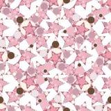 Abstraktes nahtloses Muster mit Sternen Stockbilder
