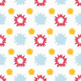 Abstraktes nahtloses Muster Vektorabbildung für Ihr design lizenzfreie abbildung