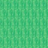 Abstraktes nahtloses Muster Vektorhintergrund in den grünen und gelben Farben Stockfoto