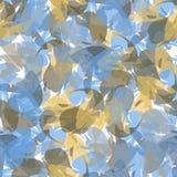 Abstraktes nahtloses Muster von Farbenanschlägen Lizenzfreie Stockbilder