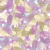 Abstraktes nahtloses Muster von Farbenanschlägen Stockbild