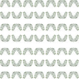 Abstraktes nahtloses Muster von Grünpflanzen Lizenzfreie Stockfotografie
