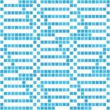 Abstraktes nahtloses Muster von hellen Quadraten Bewegung von geometrischen Formen Lizenzfreie Stockbilder